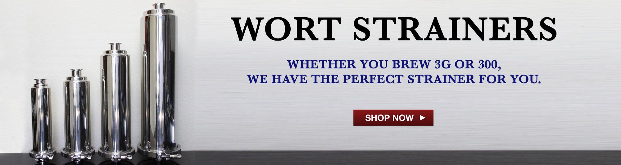 Wort Strainers