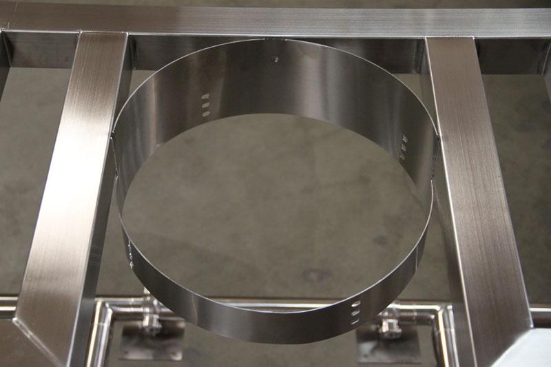Banjo / Hurricane Burner Mount Heat Shield from Brewers Hardware