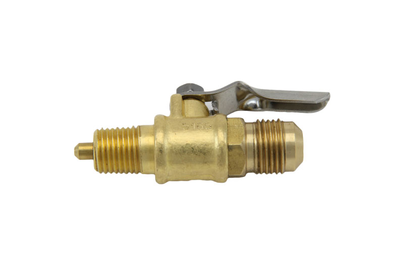 Natural gas valve orifice from brewers hardware