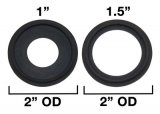 "1""/1.5"" Tri Clover Compatible Gaskets"