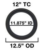 "12"" Tri Clover Compatible Gaskets"