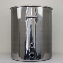 30 Gallon TC Fitted HLT or Boil Kettle withTemperature Port