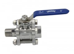 "1/2"" Full Port 3-Piece Ball Valve Female/Male"
