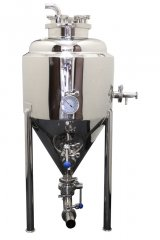 15 Gallon Stainless Steel Glycol Jacketed Conical Fermentor
