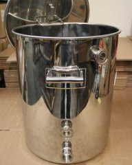 15 Gallon TC Fitted Kettle with Temperature Port - Clearance