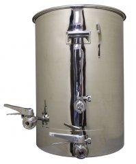 45 Gallon TC Fitted Boil Kettle with Tangential Inlet and Temperature Port