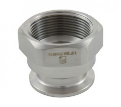 "1.5"" Tri Clover Compatible X 1.5"" Female NPT"