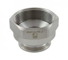 "1.5"" Tri Clover Compatible X 2"" Female NPT"