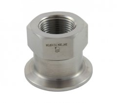 "1""/1.5"" Tri Clover Compatible X 3/4"" Female NPT"