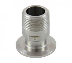 "1""/1.5"" Tri Clover Compatible X 1"" Male NPT"