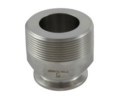 "1""/1.5"" Tri Clover Compatible X 2"" Male NPT"