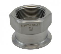 "2"" Tri Clover Compatible X 1.5"" Female NPT"