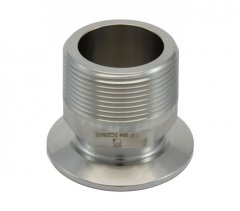 "2"" Tri Clover Compatible X 1.5"" Male NPT"