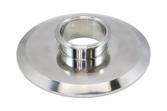 "Tri Clover Compatible 8"" X 3"" Cap Style Reducer - Clearance"