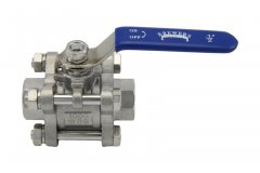 "1/2"" Full Port 3-Piece Ball Valve"