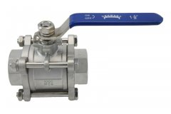"1.5"" Full Port 3-Piece Ball Valve"
