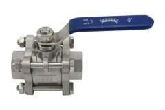 "3/4"" Full Port 3-Piece Ball Valve"