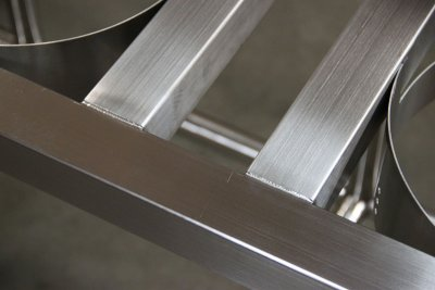 Weld detail of square stock welds