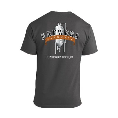 Brewers Hardware T-Shirt - Charcoal