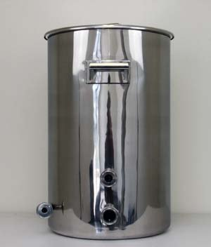 15 Gallon TC Fitted Boil Kettle with Tangential Inlet and Temperature Port
