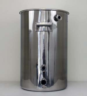 20 GallonTC Fitted Mash Tun with False Bottom and Temperature Port