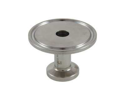 "Tri Clover Compatible 1""/1.5"" X 1/2"" Cap Style Reducer"