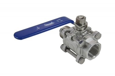 "1"" Full Port 3-Piece Ball Valve Female/Male"