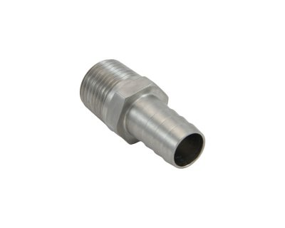 "1/2"" Threaded Hose Barb Full Bore High Flow"