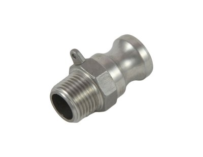 "1/2"" Cam and Groove Adapter X 1/2"" Male NPT"