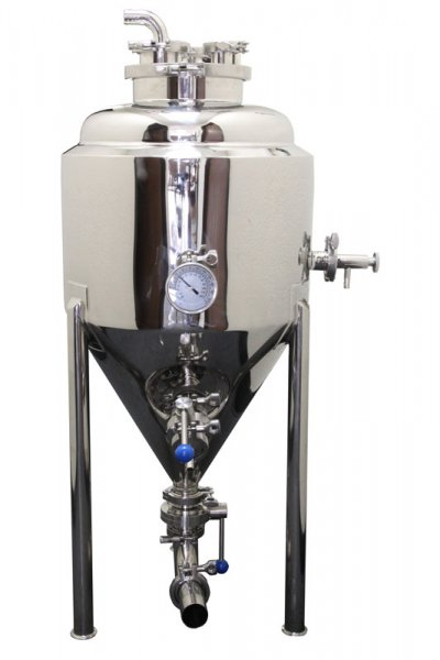 30 Gallon Stainless Steel Glycol Jacketed Conical Fermentor