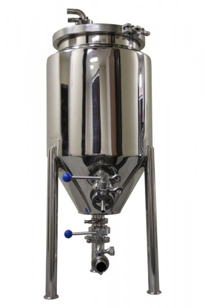 8 Gallon Stainless Steel Glycol Jacketed Conical Fermentor