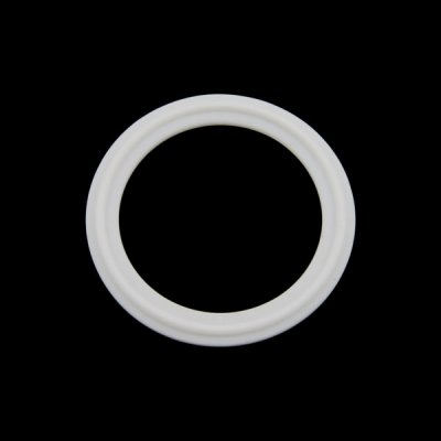 "PTFE Flat Half Gasket for 2"" Tri Clover Compatible Cap"