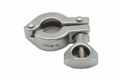 "1/2"" & 3/4"" Tri Clover Compatible Clamp"
