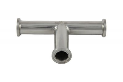 "3/4"" Tri Clover Compatible Clamp Tee"