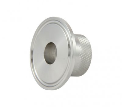 "1.5"" Tri Clover Compatible X 3/4"" Female Garden Hose Adapter"