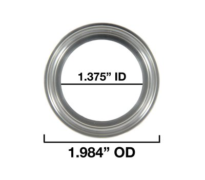 "1.375"" Inside Diameter and 1.984"" Outside Diameter"