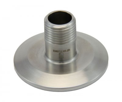 "2"" Tri Clover Compatible X 1/2"" Male NPT"