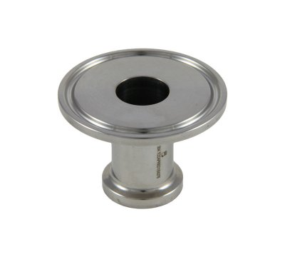 "Tri Clover Compatible 1""/1.5"" X 3/4"" Cap Style Reducer"