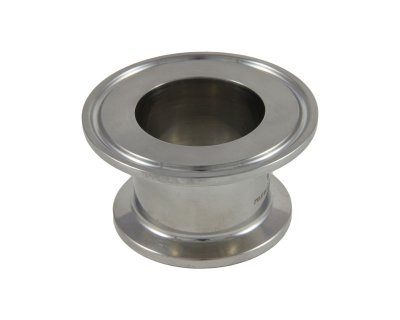"Tri Clover Compatible 2"" X 1.5"" Cap Style Reducer"