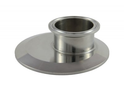 "Tri Clover Compatible 4"" X 2"" Cap Style Reducer - Offset"
