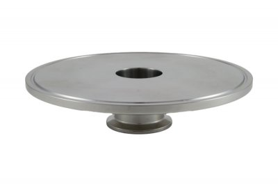 "Tri Clover Compatible 6"" X 2"" Cap Style Reducer"