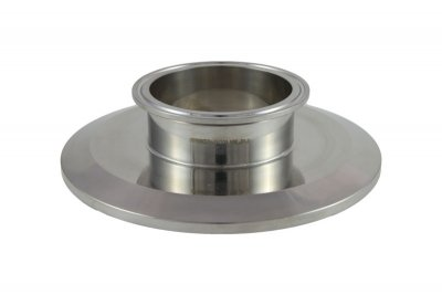 "Tri Clover Compatible 6"" X 3"" Cap Style Reducer"